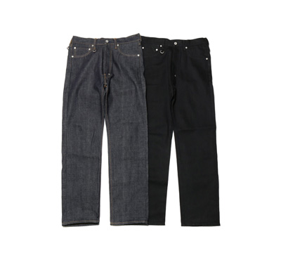 Selvedge Raw Denim Pants (Reguler-Fit)