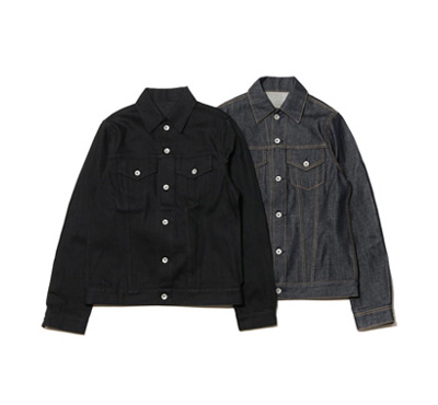 Selvedge Raw Denim Trucker Jacket