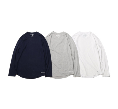 COOLMAX® V-Neck Long Sleeve
