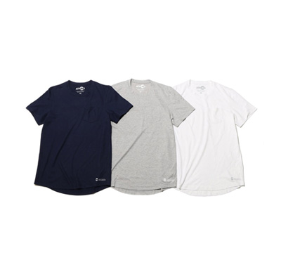 COOLMAX® Crew-Neck Pocket T Shirt