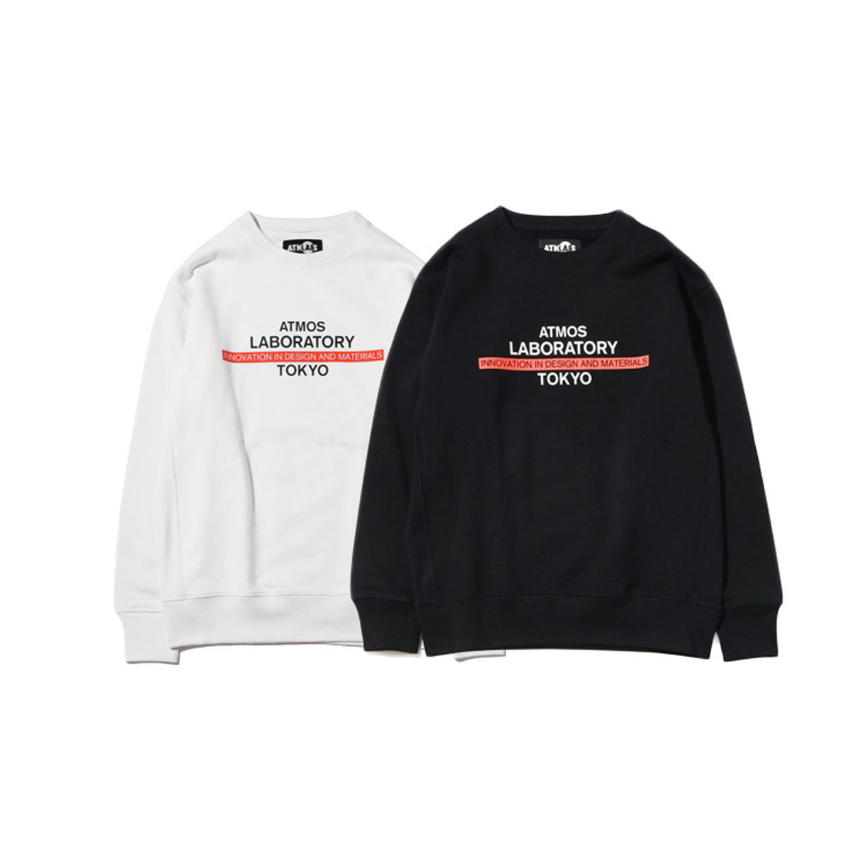 LABORATORY CREW-NECK SWEAT