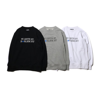 W125 CREW-NECK SWEAT