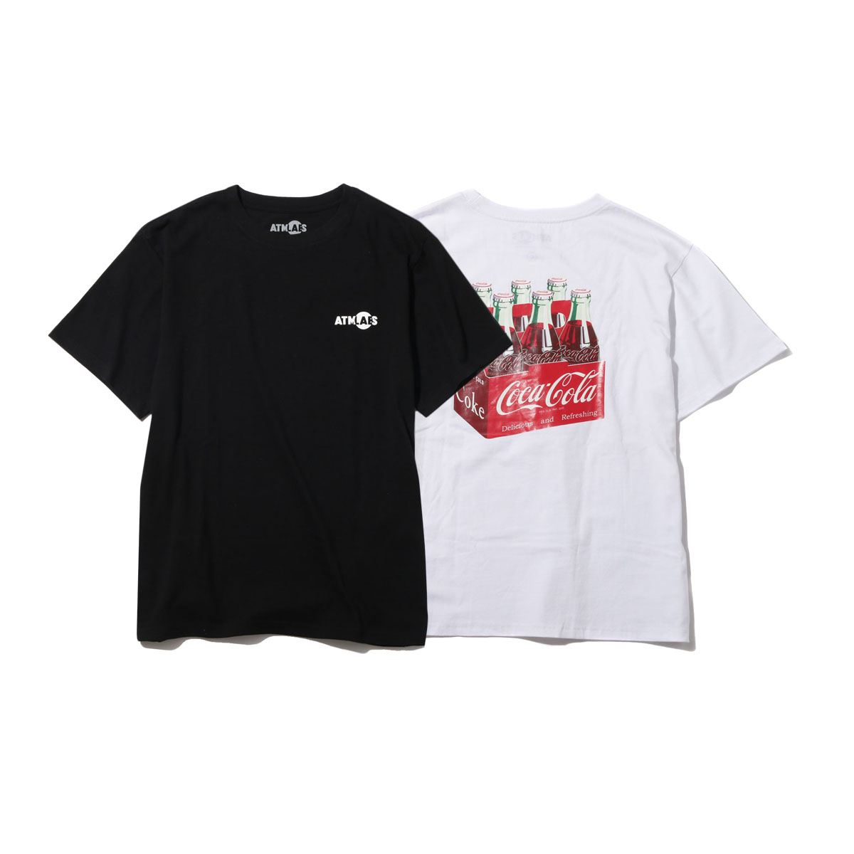 COCA-COLA by ATMOS LAB 6 BOTTLES TEE