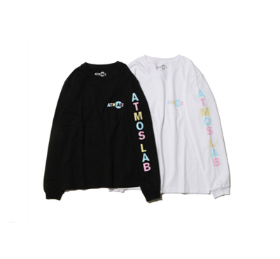 ATMOS LAB x 藤田ニコル TEAM LONG SLEEVE TEE