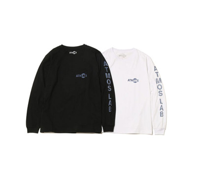ATMOS LAB x 池田美優 TEAM LONG SLEEVE TEE