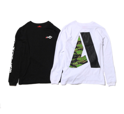 BIG A LS TEE TIGER CAMO