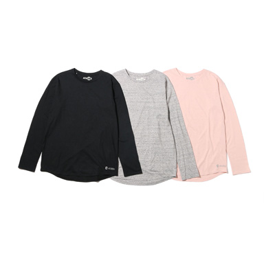 COOLMAX(R) CREW-NECK LONG SLEEVE