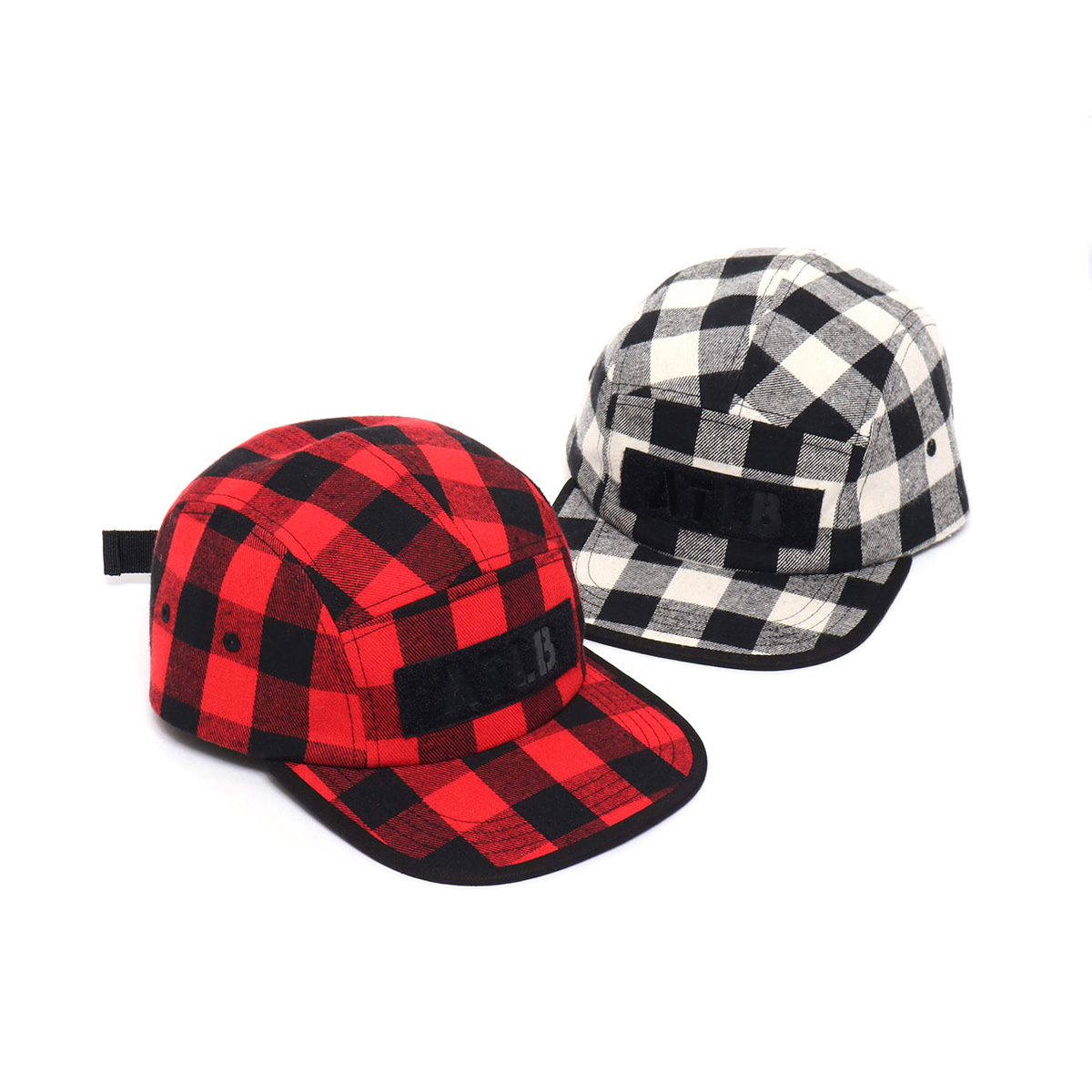 ATMOS LAB FLANNEL CHECK CAMP CAP