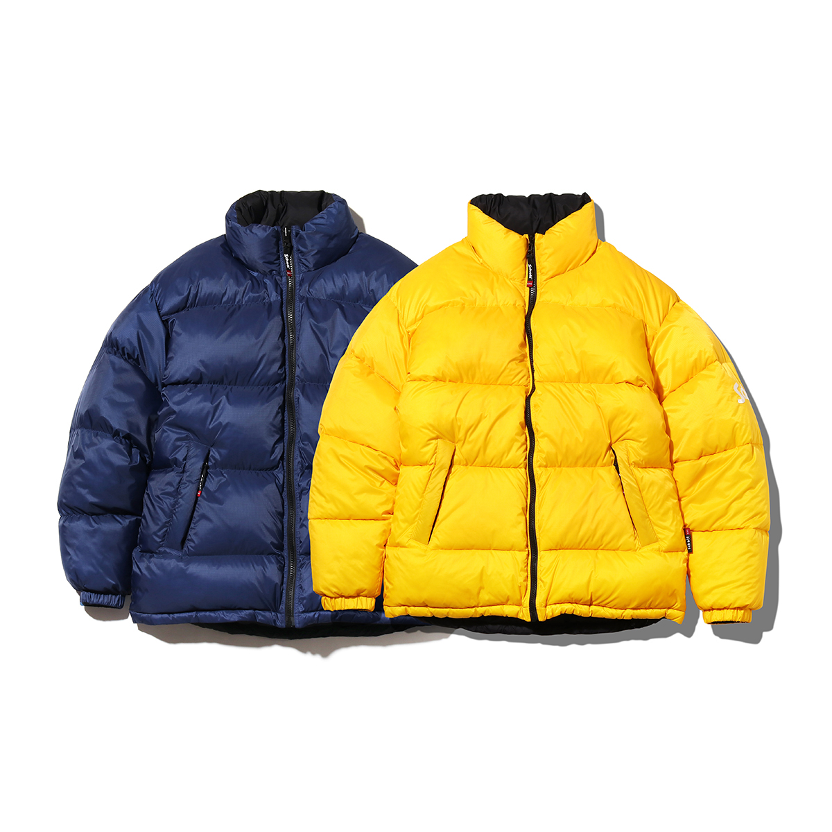 SCHOTT x ATMOS LAB REVERSIBLE DOWN JACKET