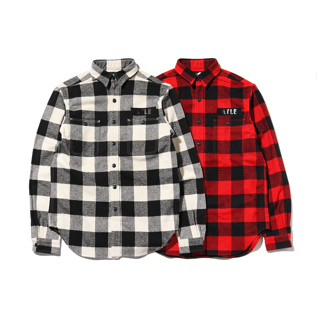 ATMOS LAB FLANNEL SHIRT