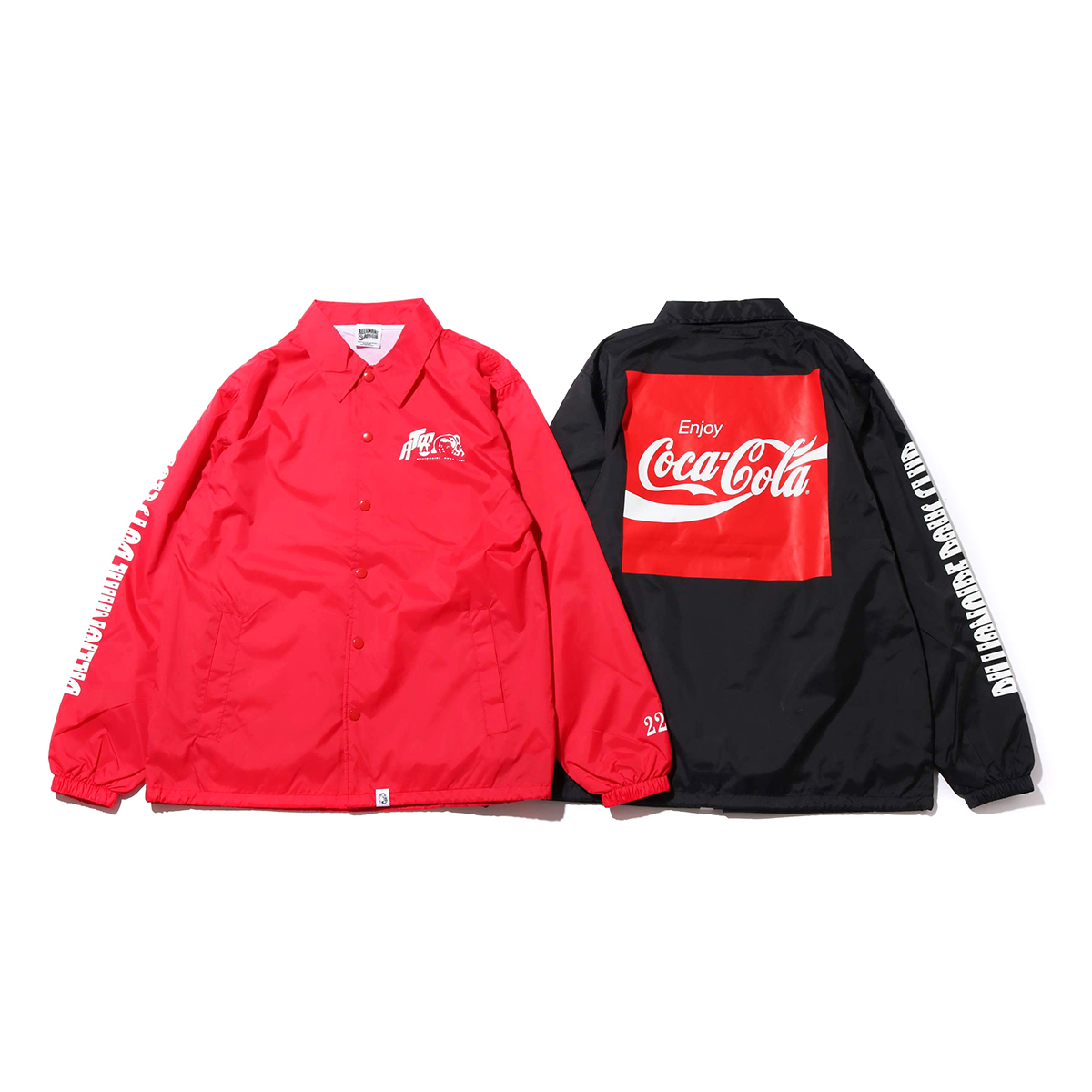 Coca-Cola by Billionaire Boys Club x ATMOS LAB BP COLA COACH JACKET