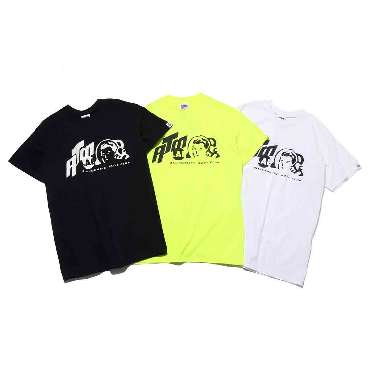 BILLIONAIRE BOYS CLUB x ATMOS LAB T-SHIRTS_ATMOS CON