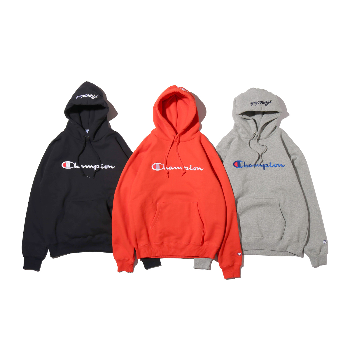 Champion × ATMOS LAB P/O HOODED SWEATSHIRT