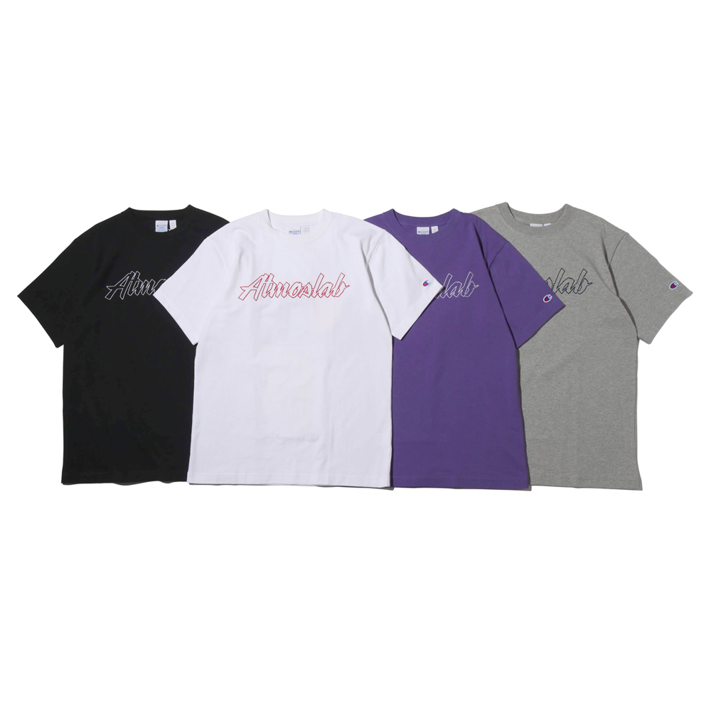 CHAMPION x ATMOS LAB BIG LOGO T-SHIRT