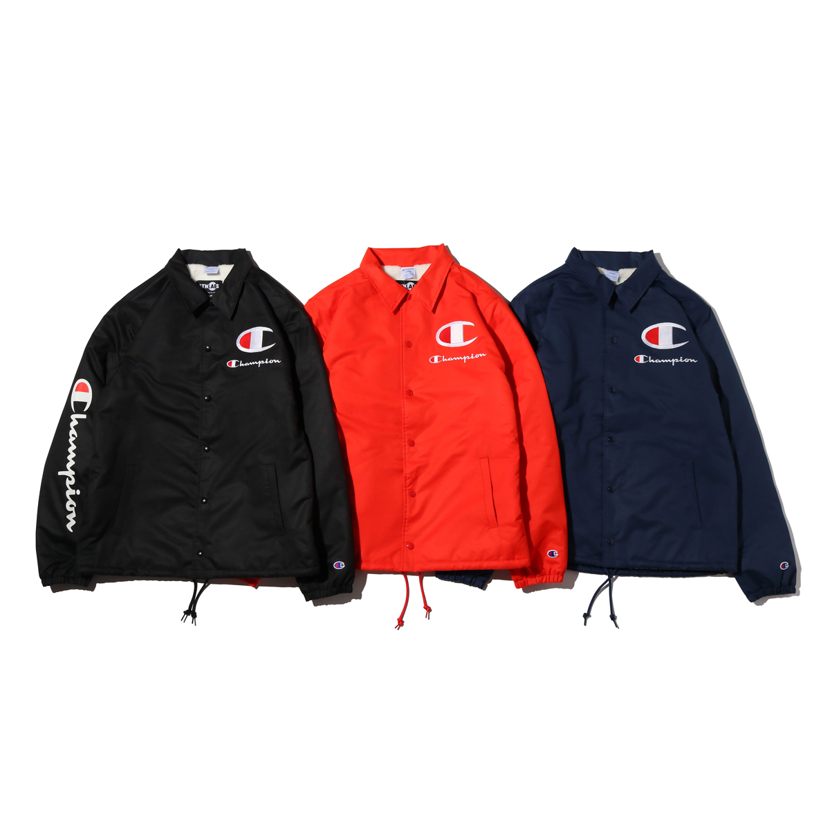 Champion × ATMOS LAB BOA COACH JACKET