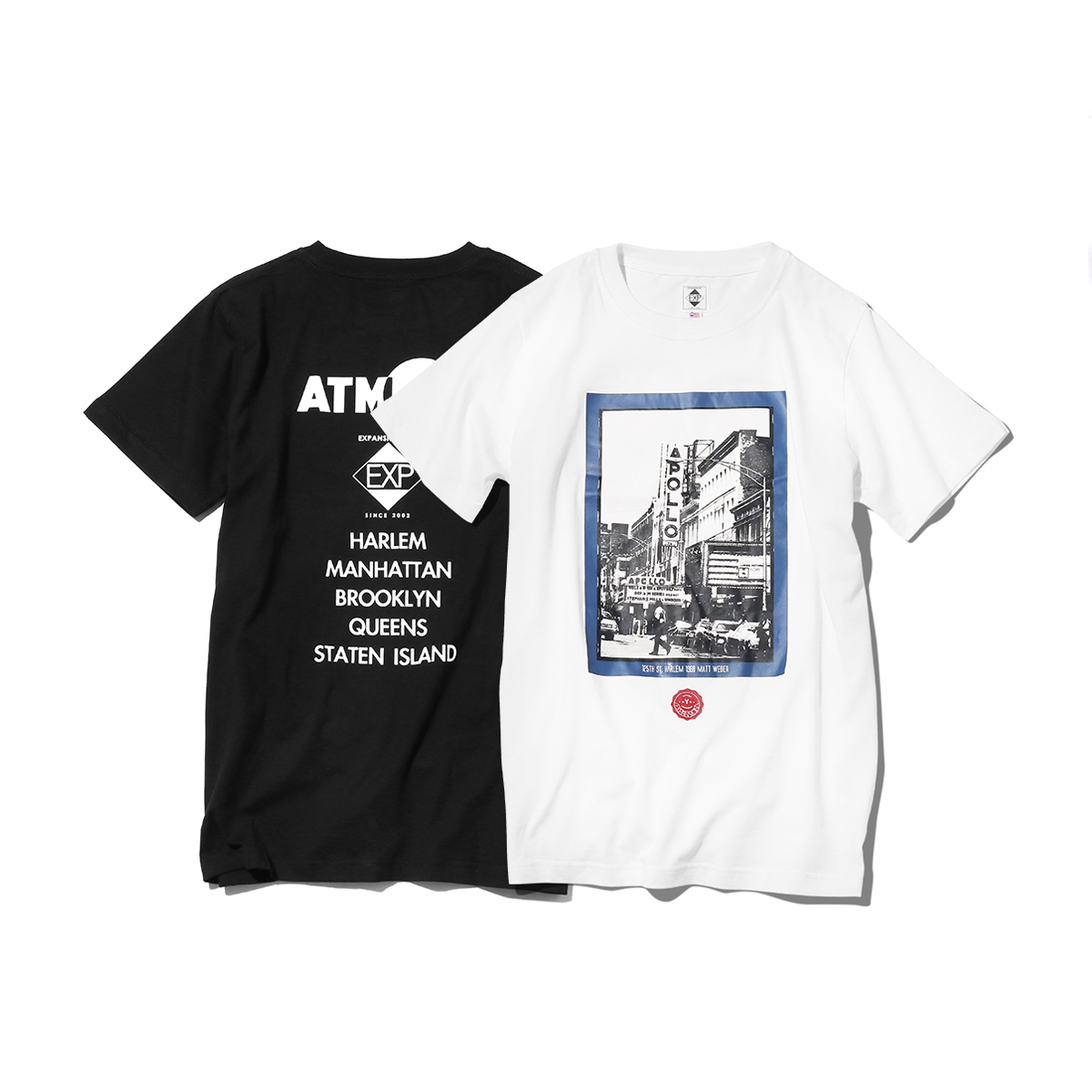 EXPANSION x ATMOS LAB HARLEM APOLLO TEE