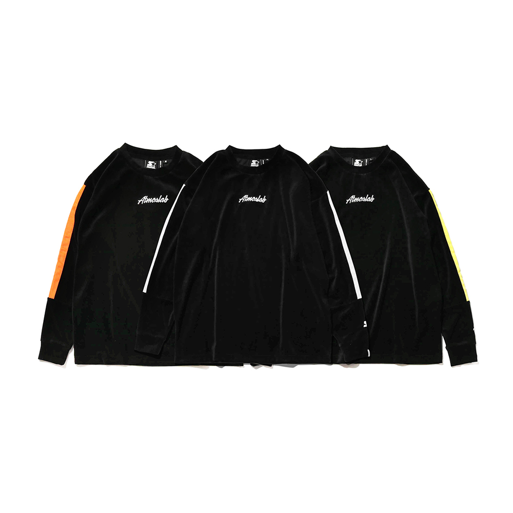 STARTER BLACK LABEL x ATMOS LAB WARM UP VELOUR LONG SLEEVE