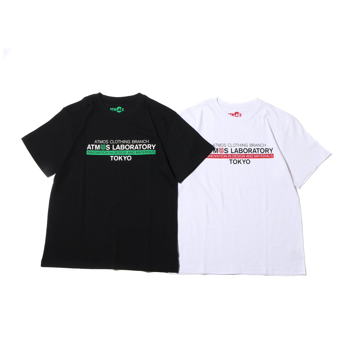 ATMOS LAB x BE@RBRICK BRANCH TEE