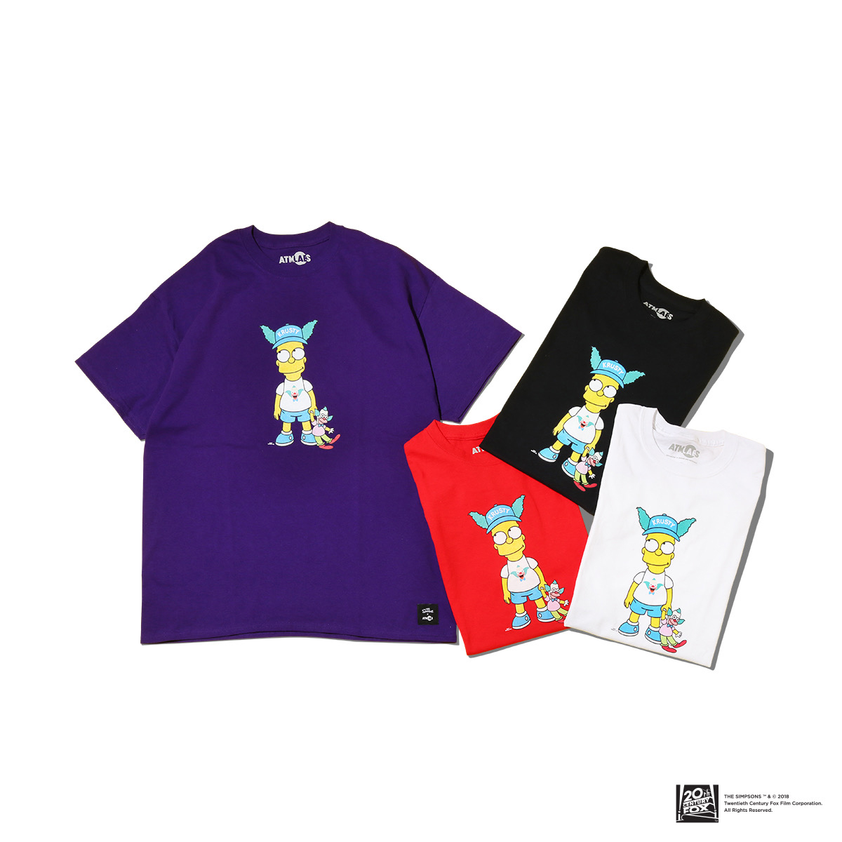 THE SIMPSONS x ATMOS LAB BART TEE