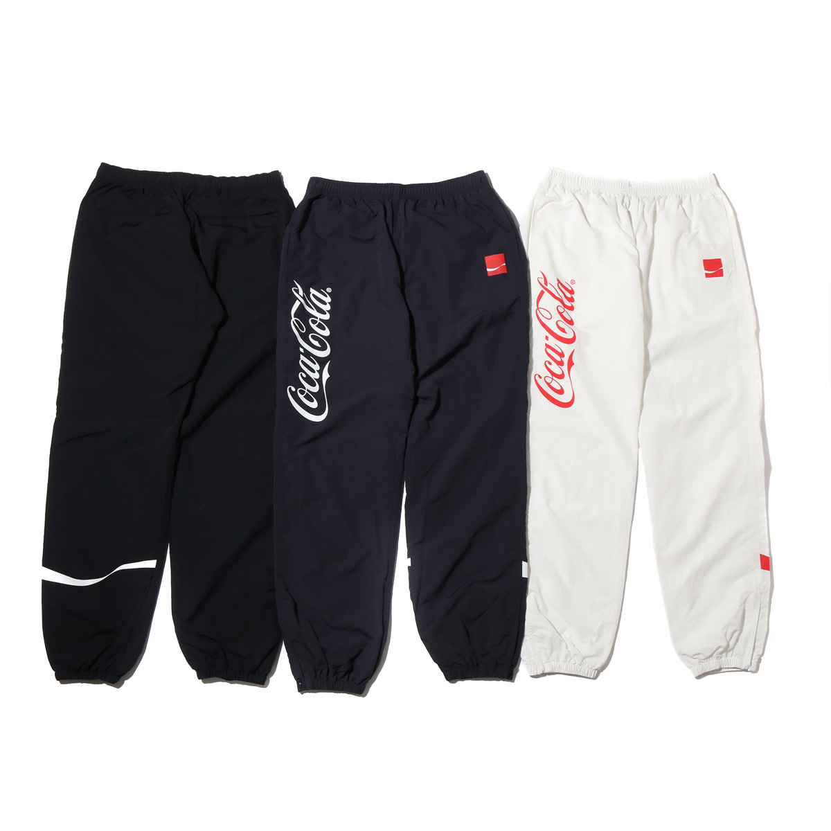 COCA-COLA by ATMOS LAB DRD NYLON TRACK PANTS