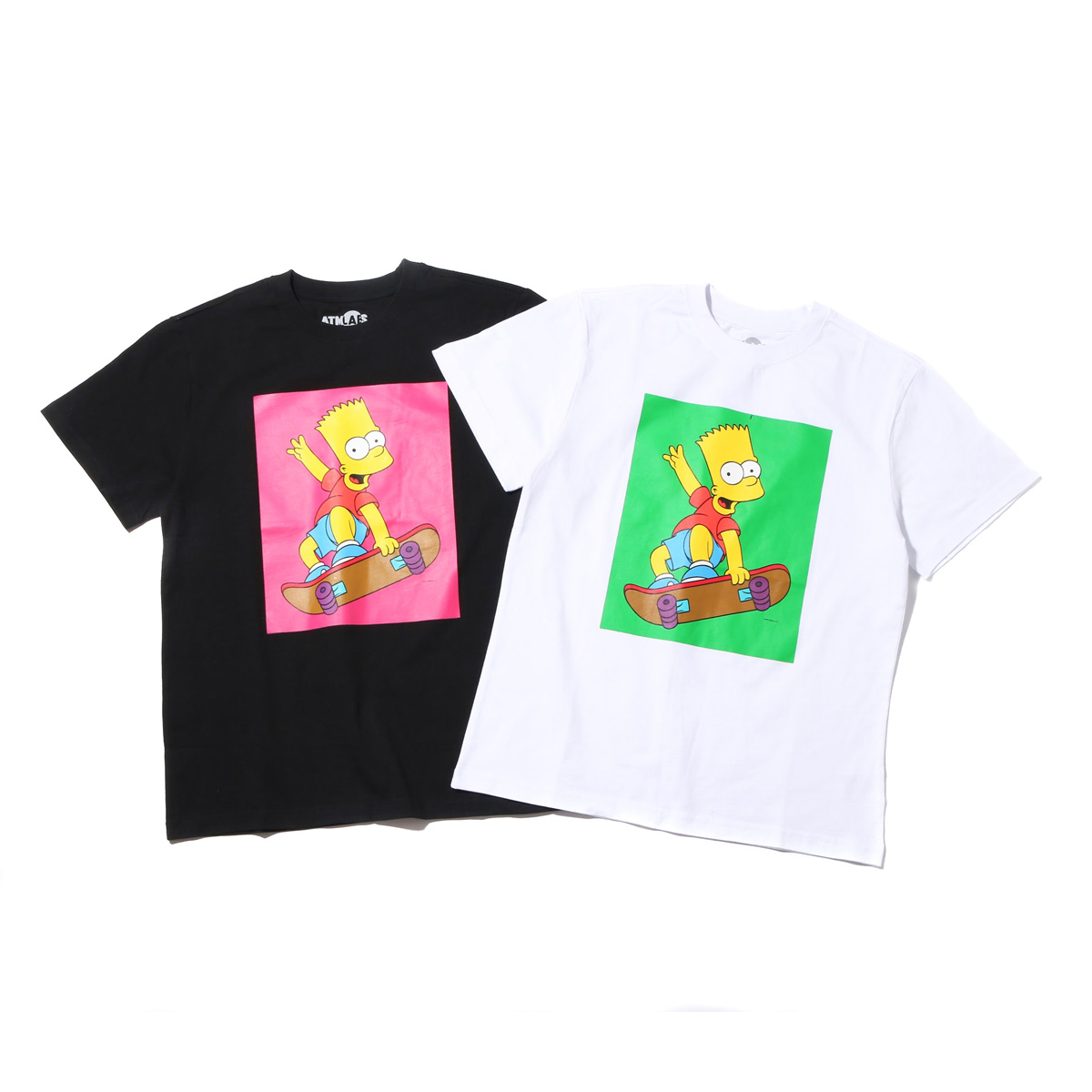 THE SIMPSONS x ATMOS LAB BART SKATE TEE