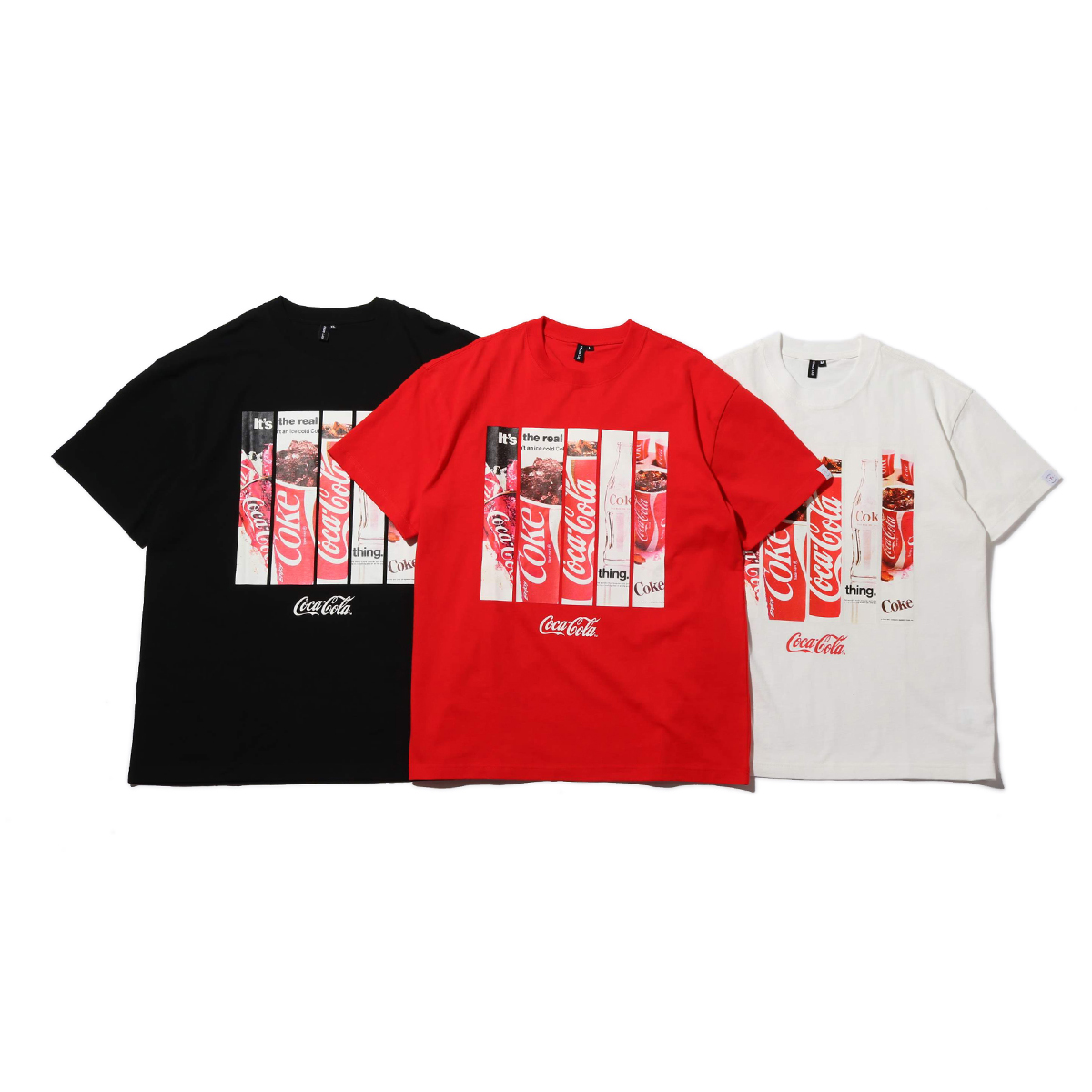 COCA-COLA by ATMOS LAB PANEL PHOTO TEE