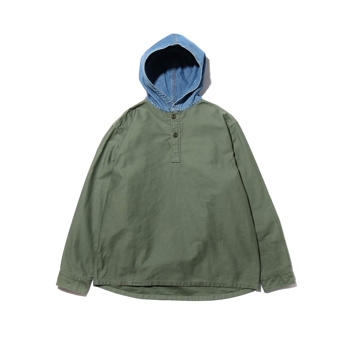 ATMOS LAB PULLOVER HOODED SHIRT