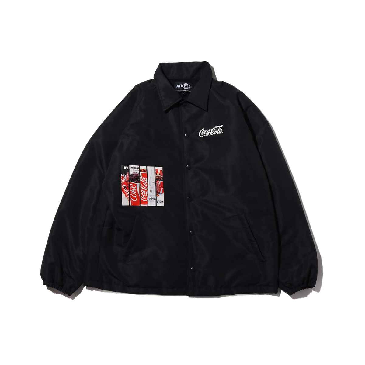 COCA-COLA by ATMOS LAB PANEL PHOTO COATH JACKET