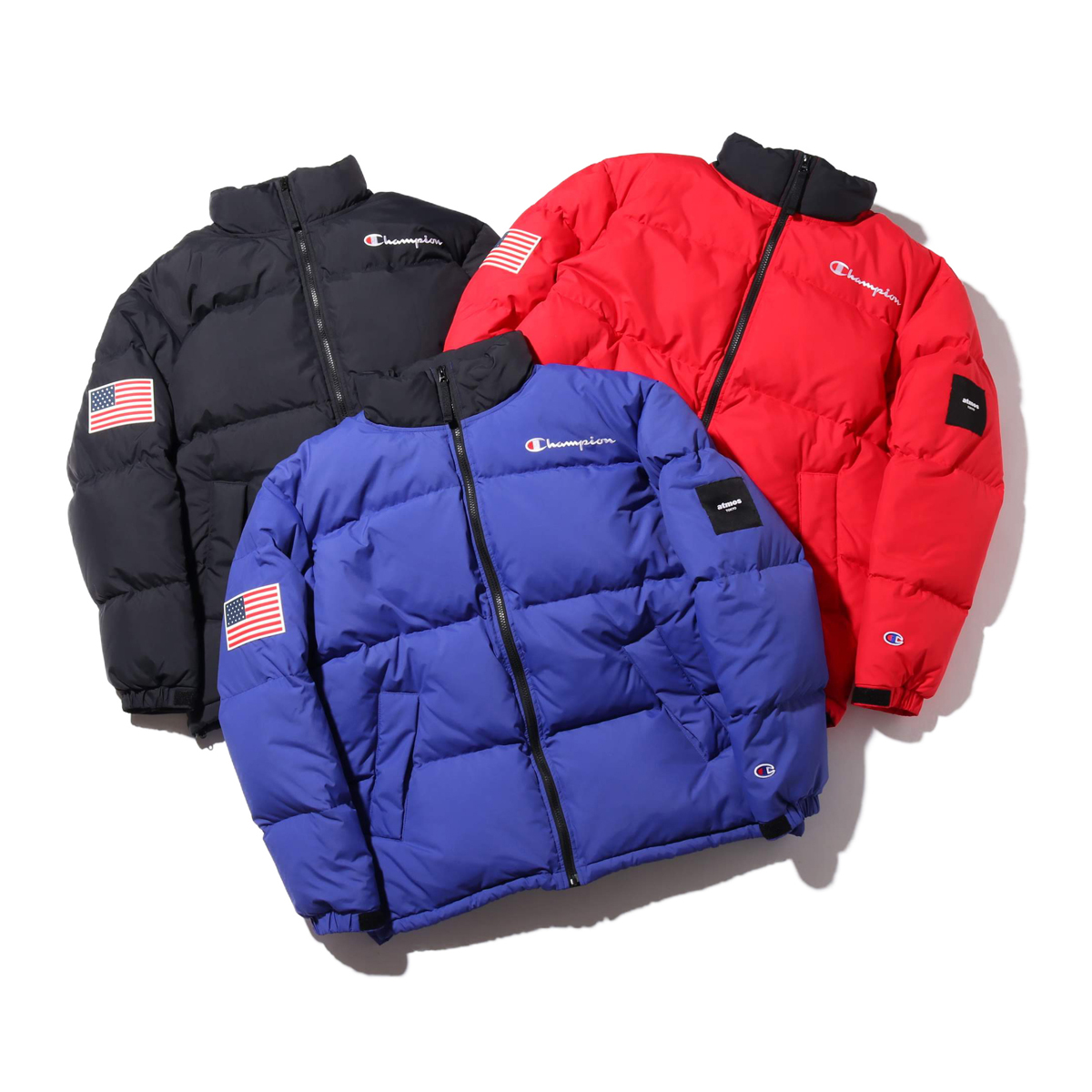 Champion x ATMOS LAB DOWN JACKET
