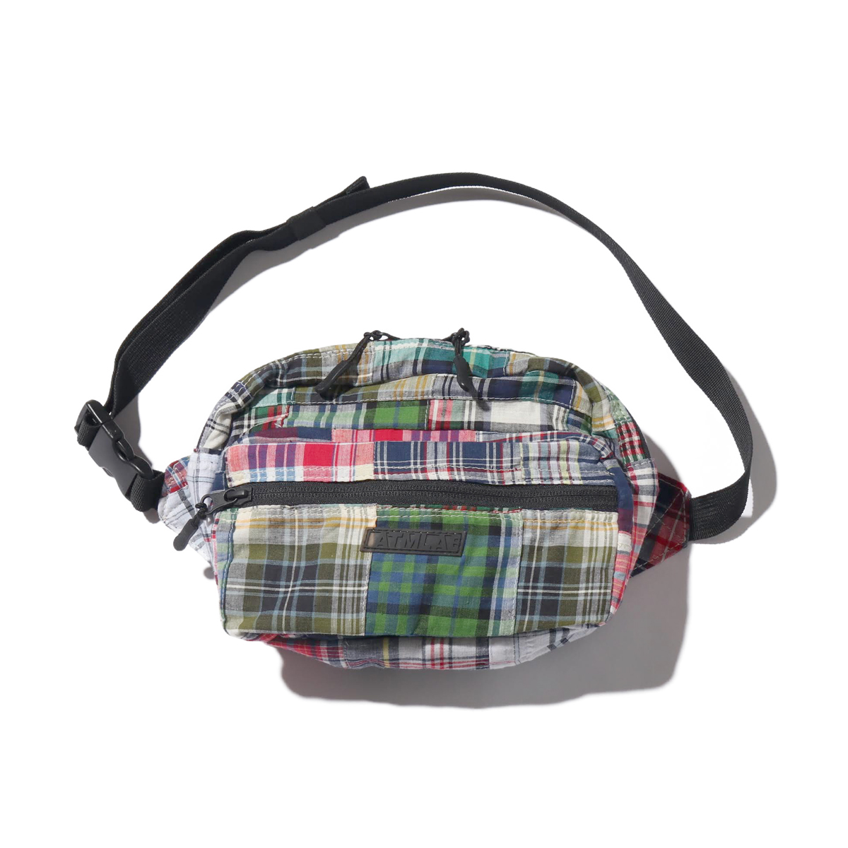 ATMOS LAB PATCHWORK WAIIST BAG