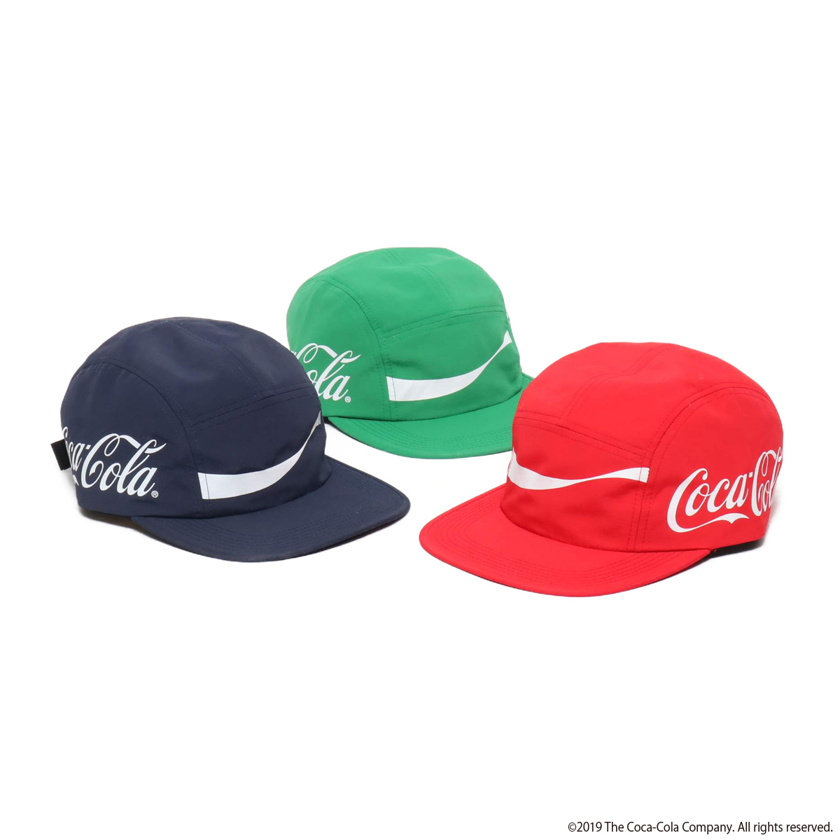 COCA-COLA BY ATMOS LAB NYLON CAMP CAP