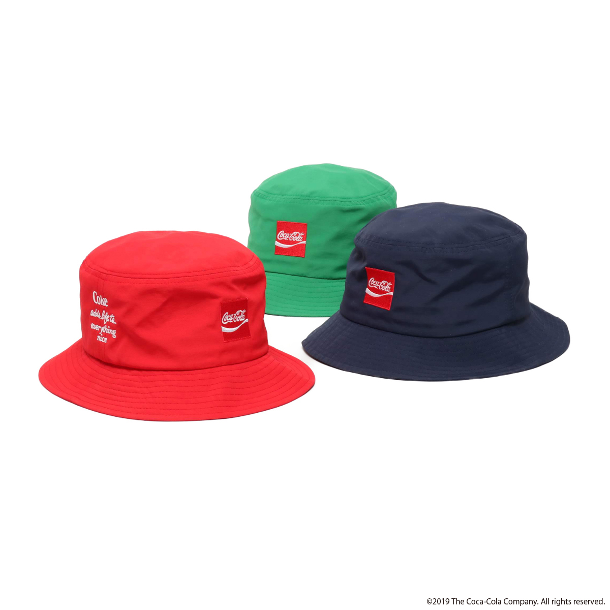 COCA-COLA BY ATMOS LAB NYLON BUCKET HAT