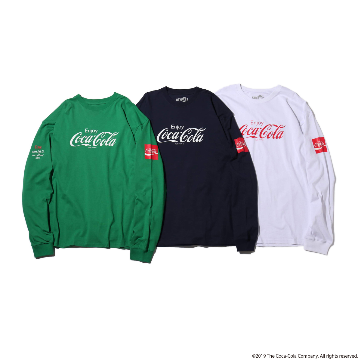 COCA-COLA BY ATMOS LAB LOGO LS TEE