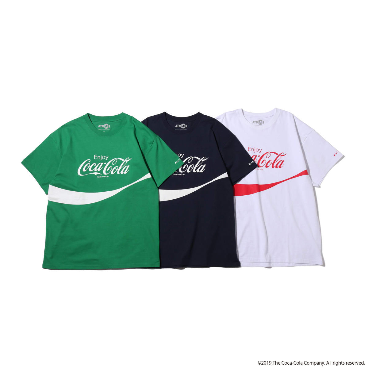 COCA-COLA BY ATMOS LAB LOGO TEE