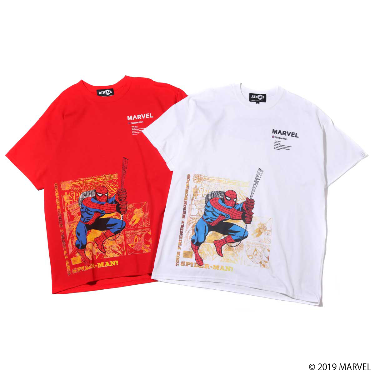 MARVEL x ATMOS LAB TEE SPIDER-MAN