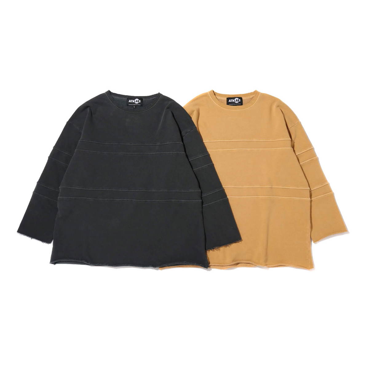 ATMOS LAB OVERDYED CUT OFF BIG SWEAT