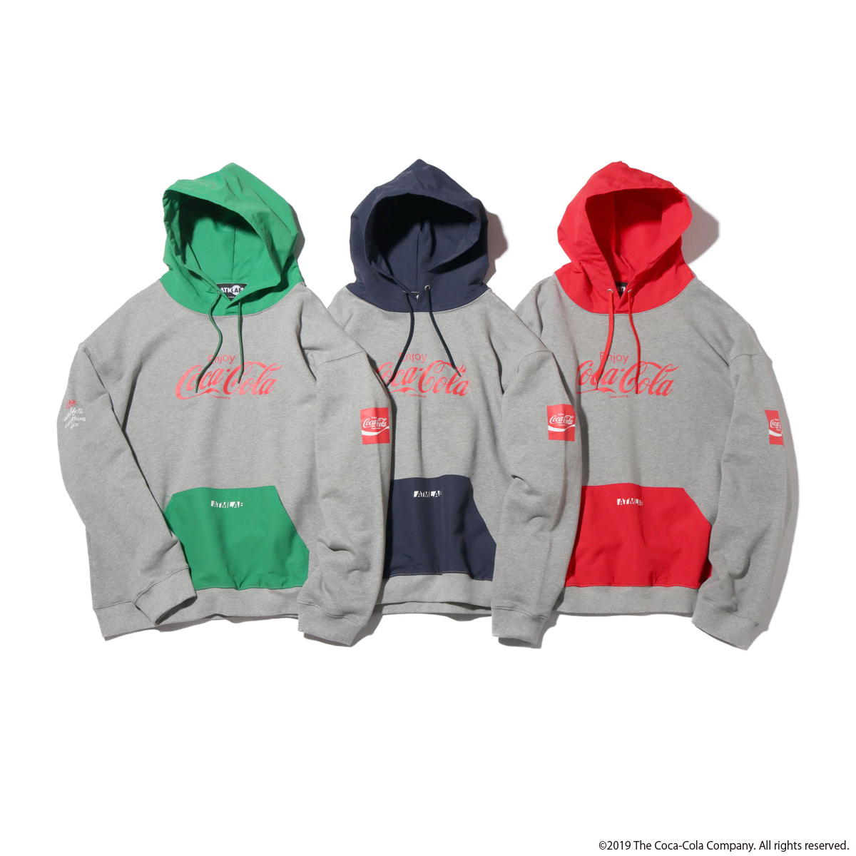 COCA-COLA BY ATMOS LAB LOGO SWEAT HOODIE