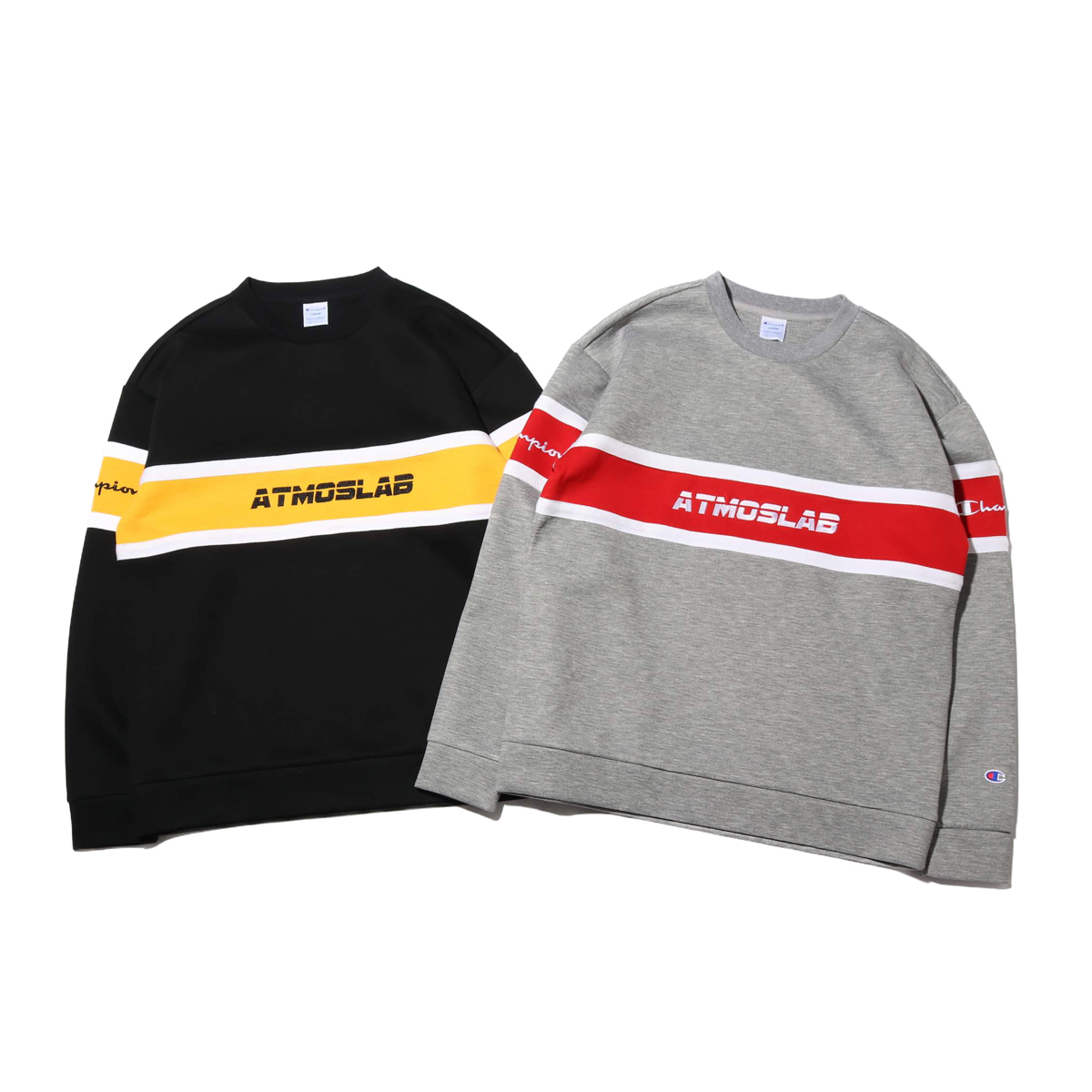 Champion × ATMOS LAB WRAP AIR CREW NECK