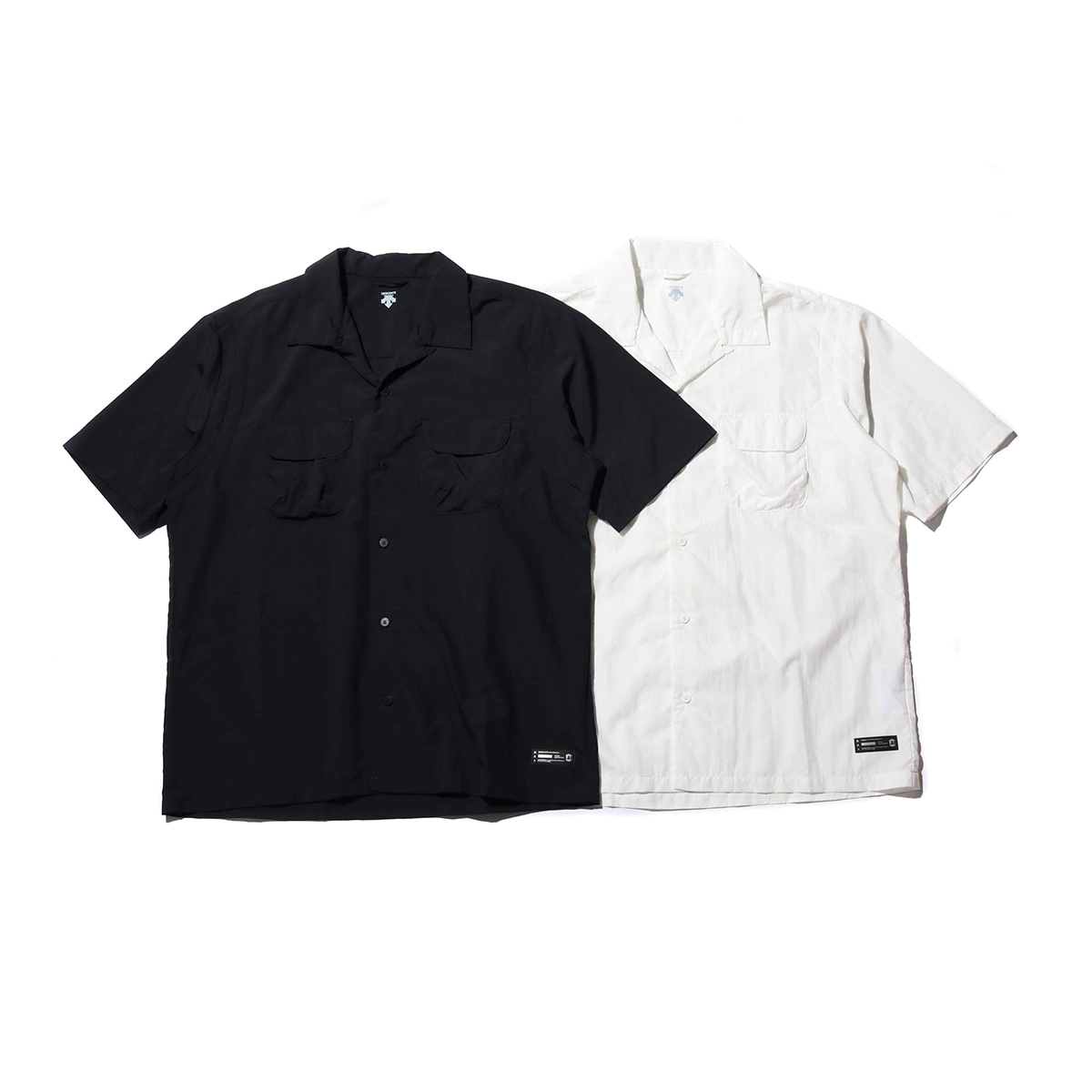 DESCENTE ddd X ATMOS LAB H/S BORING SHIRT