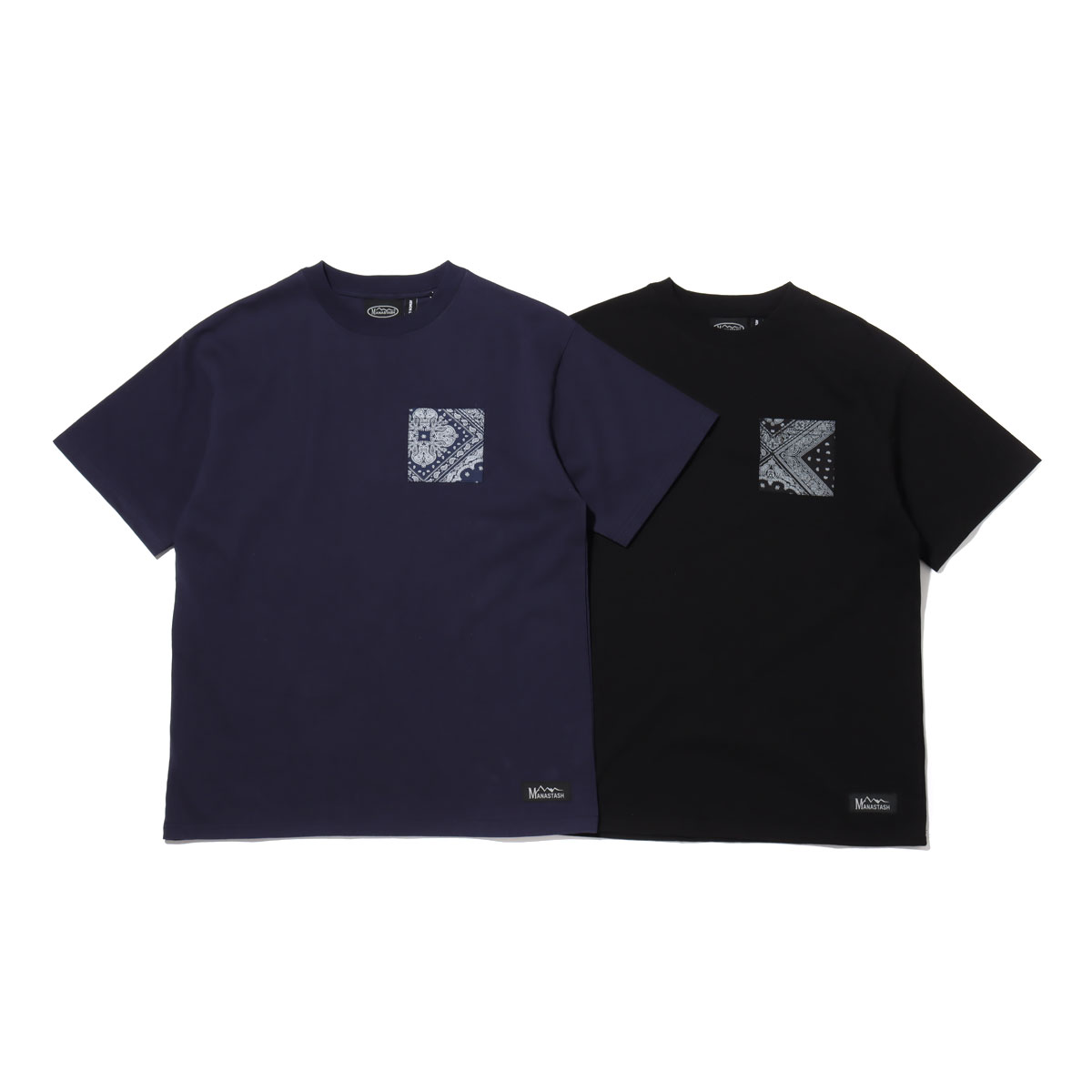 The Red White /& Blue Lab Flag Short Sleeve Pocket Tee
